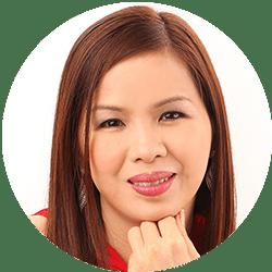 Slimmer face UltraV Marissa Ong
